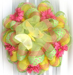 Southern Charm Wreaths: Learn How To Make My Poly Deco Mesh Wreaths!