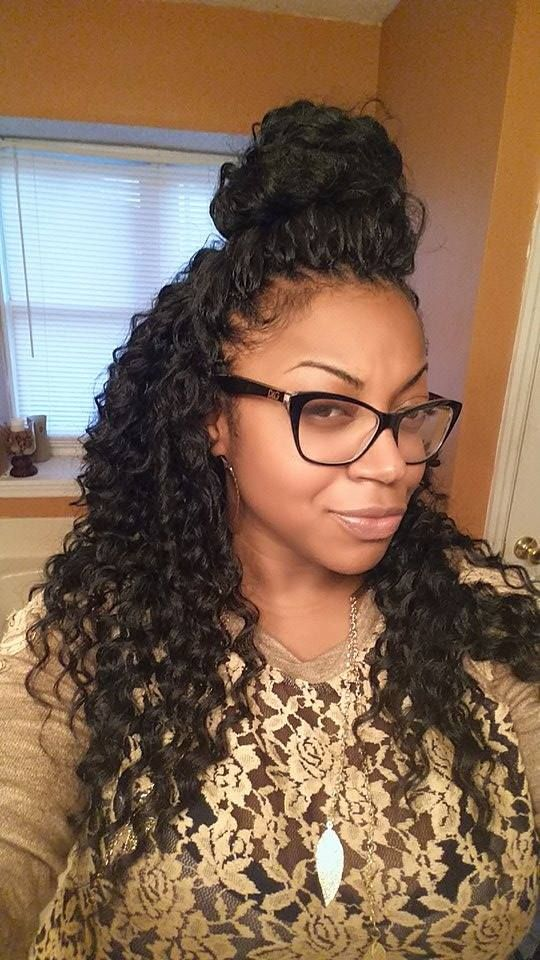 Crochet Braids Natural Hairline : is 4.5 hrs. Client hairline is her own natural hairline. The hairline ...