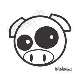 JDM Drift Pig Aufkleber