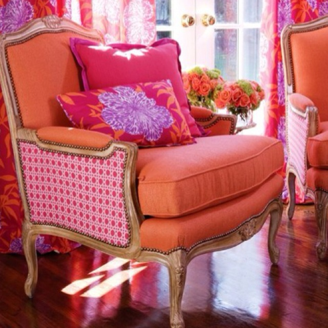 : Colors Combos, Southern Charms, Happy Colors, Interiors Design, Vibrant Colors, Colors Combinations, Colors Schemes, Girls Rooms, Bright Colors