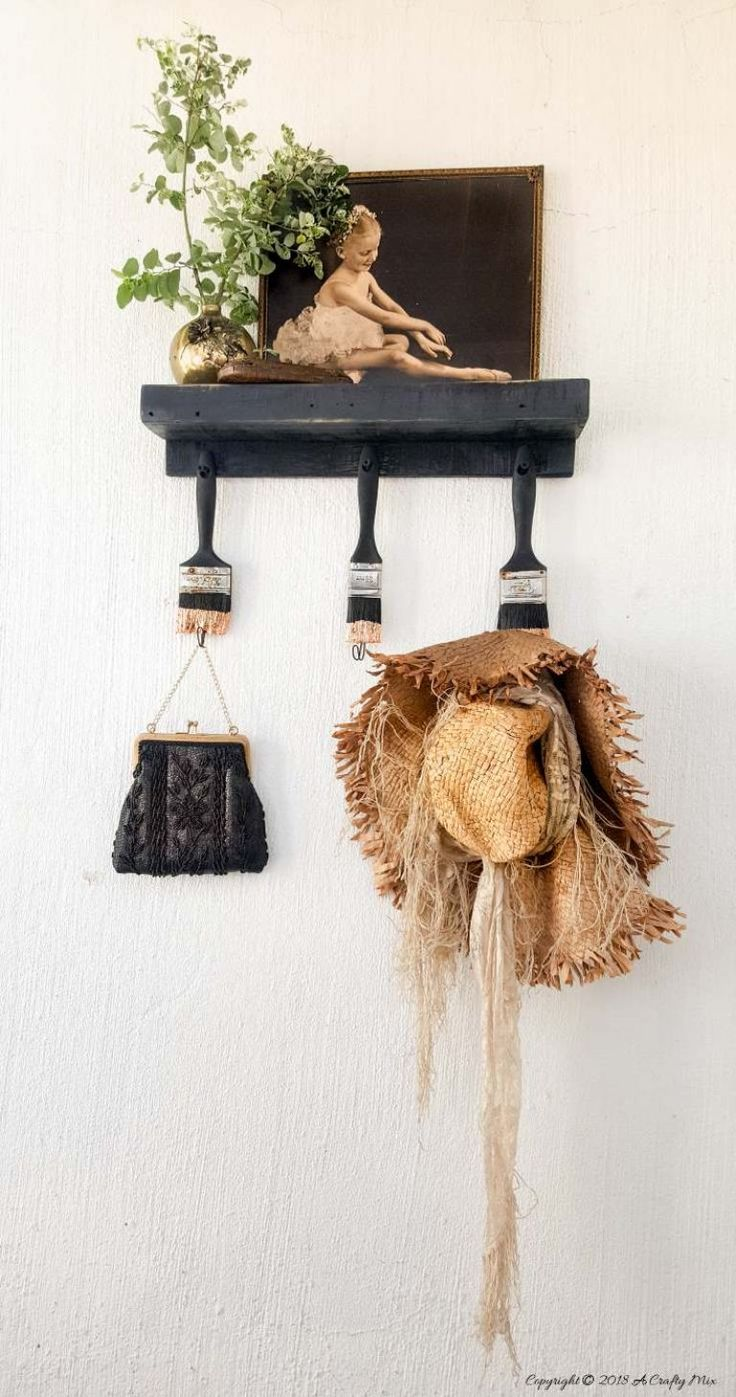 A really cool idea to repurpose some of those paint brushes that can't be saved