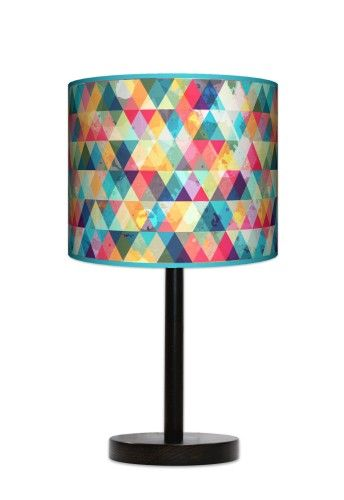 Lampa stołowa Kolorowa