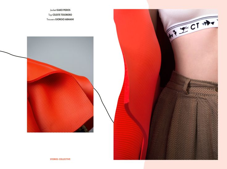 Stories Collective / The Art Squad / Photography Daniel Knott & Blake Azar / Styling Judy Lee / Makeup Chisato Chris Arai / Hair Kyye Reid Models Nikola Clarke & Mali Cooper at Jaz Daly Management / Design Louise Winkler Freshel #fashion #editorial #graphic #design #layout #illustration #forms #photography