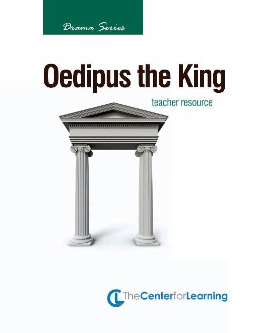 an overview of the tragedy oedipus the king by sophocles Oedipus and antigoneppt  greek tragedy sophocles sophocles • 496  • tells oedipus that king polybos of corinth is dead.