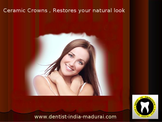 Preserve your #damagedtooth with #CeramicCrowns .Dr. Rajarajan at Deivam dental clinic prepares #dentalcrowns & giving effective treatments in #Madurai To know about the cost details & procedures : http://goo.gl/Wv8G8D