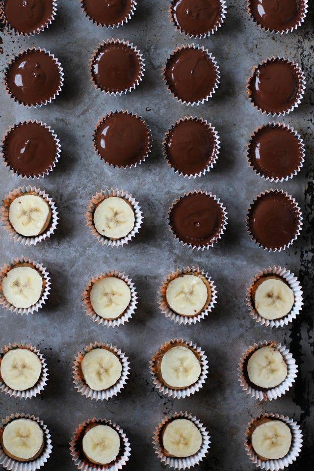 Peanut Butter Banana Cups