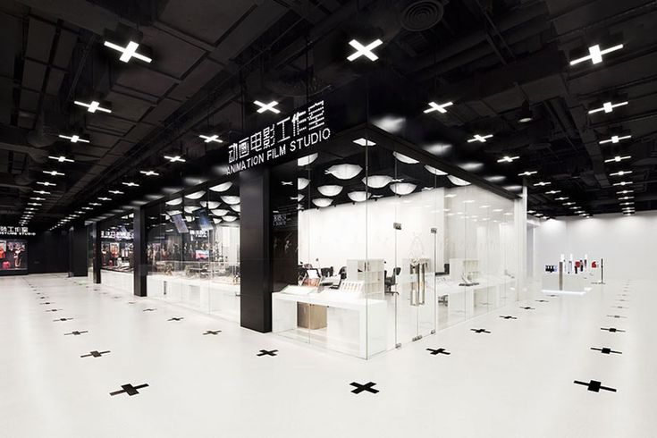 Shanghai Film Museum | Love the spacial grid established through the use of corresponding crosses