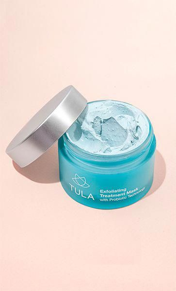 Exfoliating Treatment Mask Lactic acid exfoliation, This dual phase treatment provides both a chemical and physical exfo…