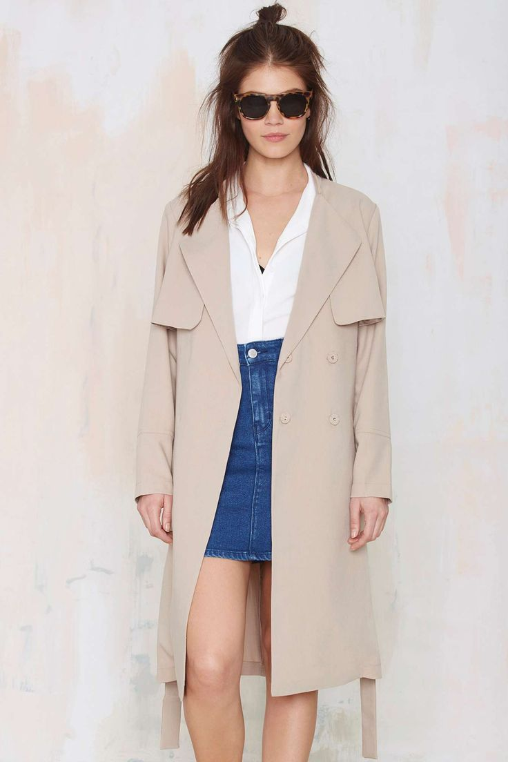 Flux Trench Coat