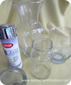 DiY Mercury Glass Tutorial   How to Make Your Own Mercury Glass