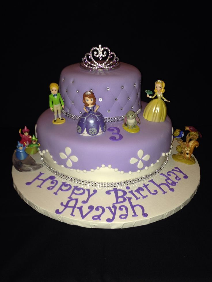 sofia the first cakes | Sofia the First Birthday Cake Topper