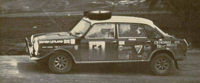 Paddy Hopkirk's BMC 1800