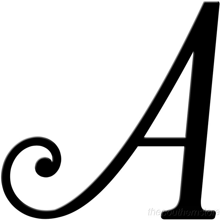 the letter m fancy