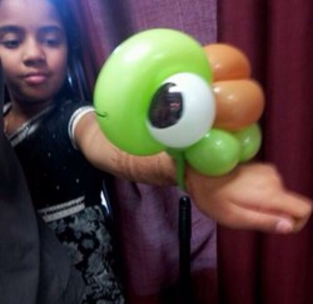 Sea turtle balloon sculpture #sea turtle #under the sea  #balloon #sculpture #twist #art #character