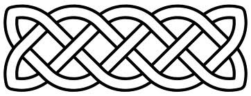 simple Celtic Knot border