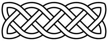 simple Celtic Knot border