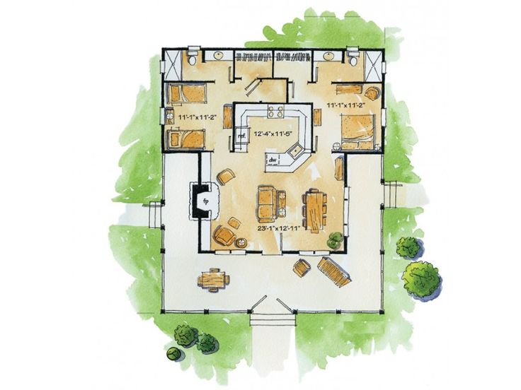 37 Best Images About House Plans Drawings Etc On