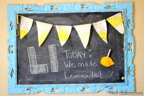 Making Lemonade: A Toddler Language Building Activity