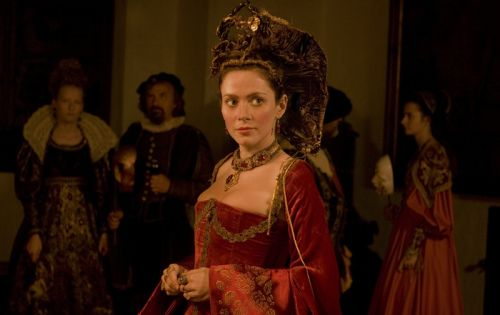 Bathory. Anna Friel as Countess Nadasdy in the recent film Bathory. http://www.imdb.com/title/tt0469640/ http://en.wikipedia.org/wiki/B%C3%A1thory_(film)