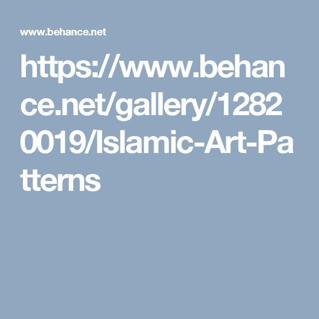 https://www.behance.net/gallery/12820019/Islamic-Art-Patterns
