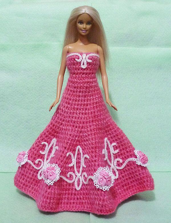 Gehäkelte Barbie Dress 09 Von HakoAmigurumi Auf Etsy Https://www.etsy.
