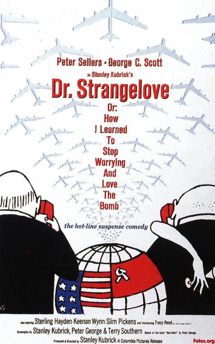 Module A. Elective 1. After the Bomb. Dr. Strangelove or: How I Learned to Stop Worrying and Love the Bomb (1964) Film. A 1964 black comedy film which satirizes the nuclear scare.