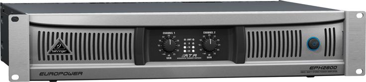 Ultra-light, Built on a Legacy Power amps have always been heavy, mainly because of their massive transformers and heat sinks. Our new EPX Series amps are based on groundbreaking switch-mode power supply technology, which eliminates the heavy transformer. www.saatvikcommunication.com