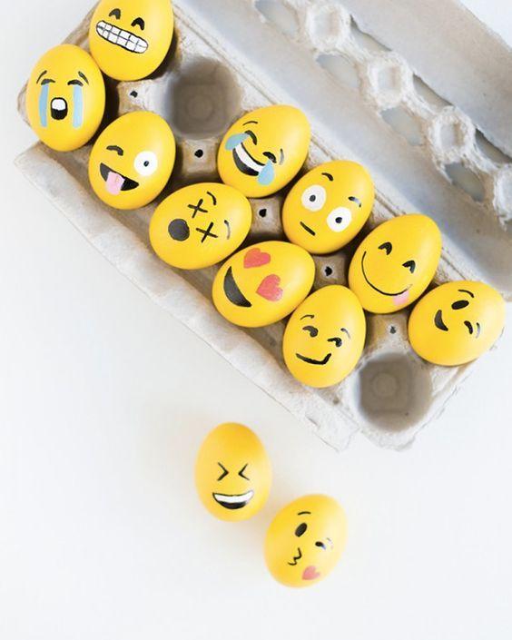 diy oeuf pâques emojis