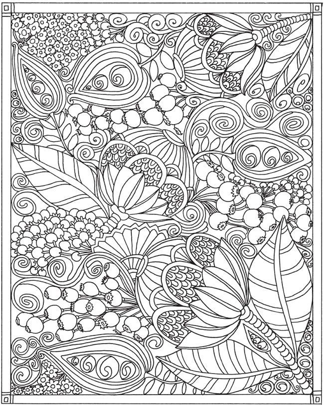 dover publications free coloring pages | 1299 best images about Coloring Outside the Lines on Pinterest