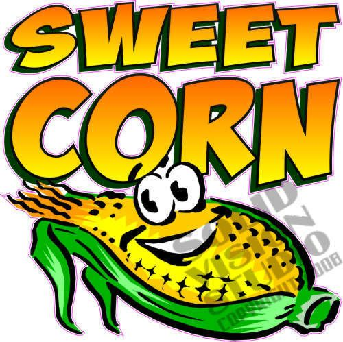 7 Quot Sweet Corn Decal Farm Stand Restaurant Concession