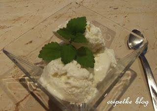 csipetke: Vanília fagylalt (gép nélkül)
