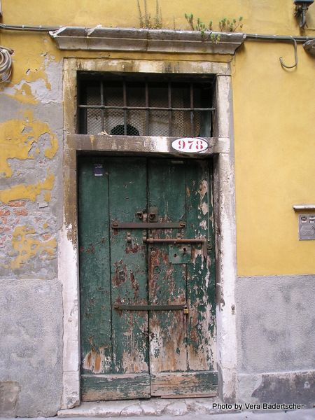 Door ... Venice ... who needs to say more