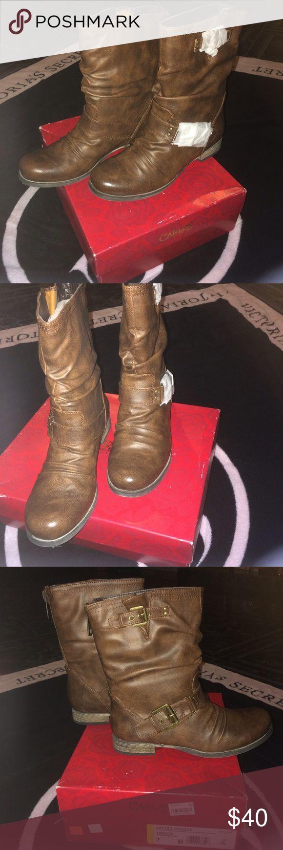 Carlos Santana boots New boots Carlos Santana Shoes Combat & Moto Boots