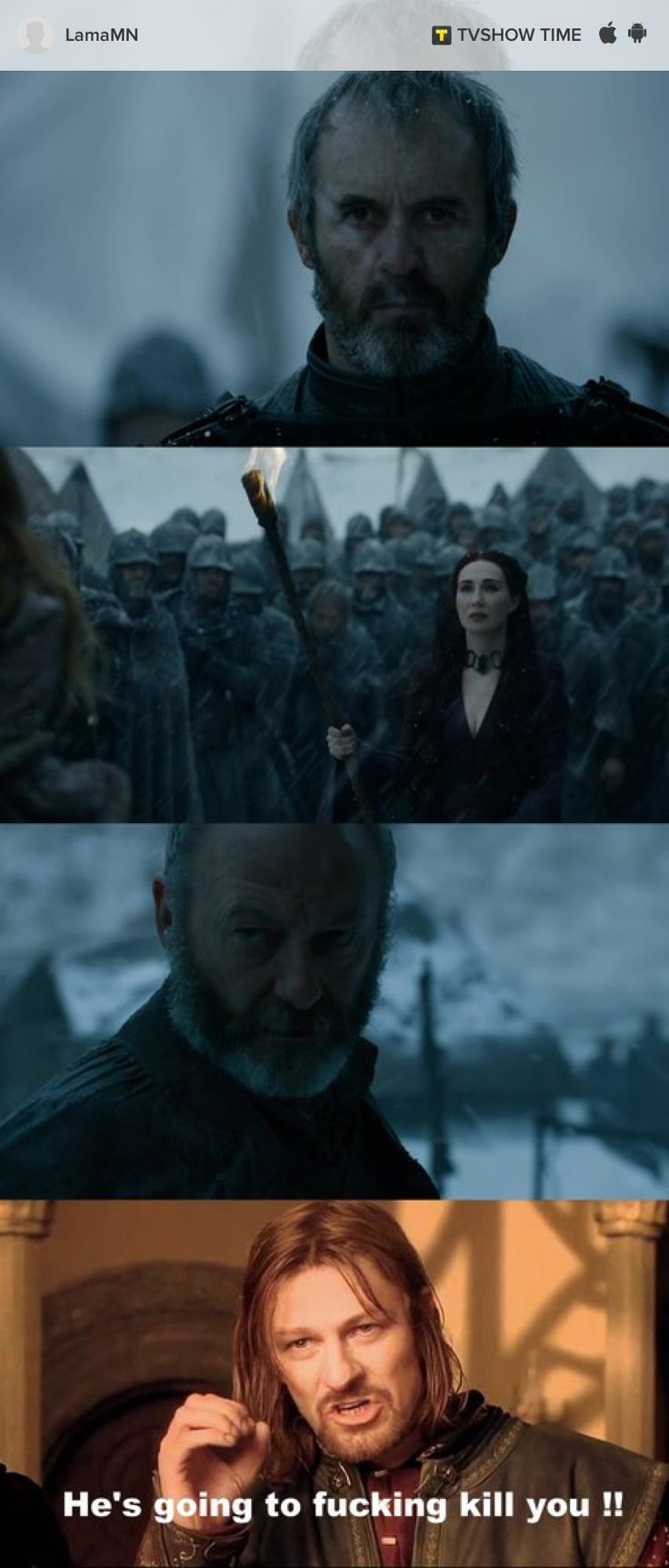 Please sir Davos kill these two PLEASE !!!