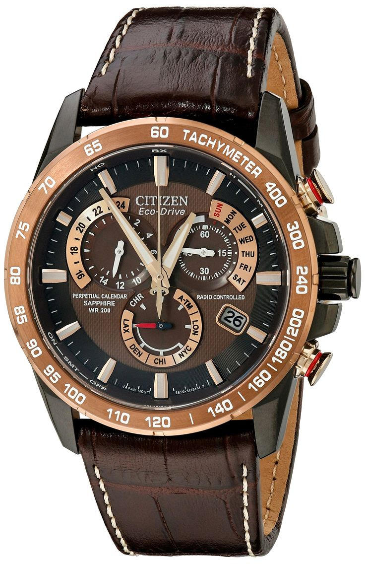 59 best citizen watches images on pinterest wrist watches fine watches and men fashion for Leather watch for men