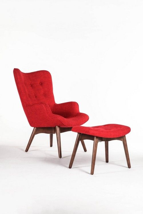 Take A Look At This Red Olsen Chair U0026 Ottoman Set On Zulily Today!