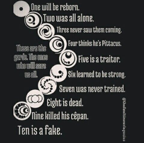 The Lorien Legacies! My favorite Young-Adult fantasy series!