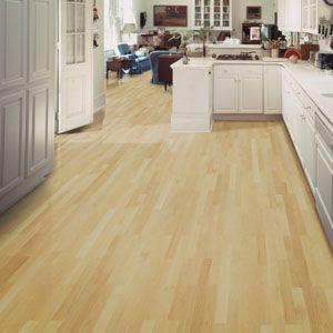 Kitchen Flooring Idea : Esteem 2 Strip   Maple Natural By Shaw Hardwoods  Flooring