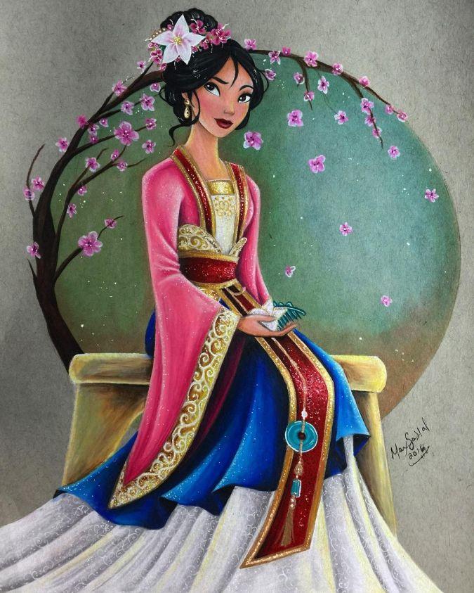 Картинки принцессы диснея красивые