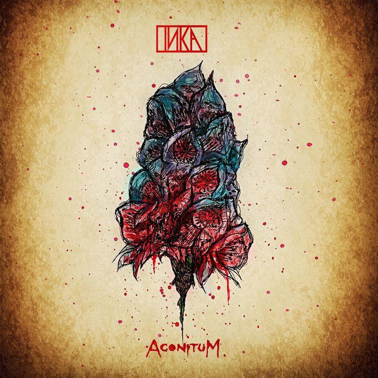 "Artwork for INKA's ""Aconitum"" album"