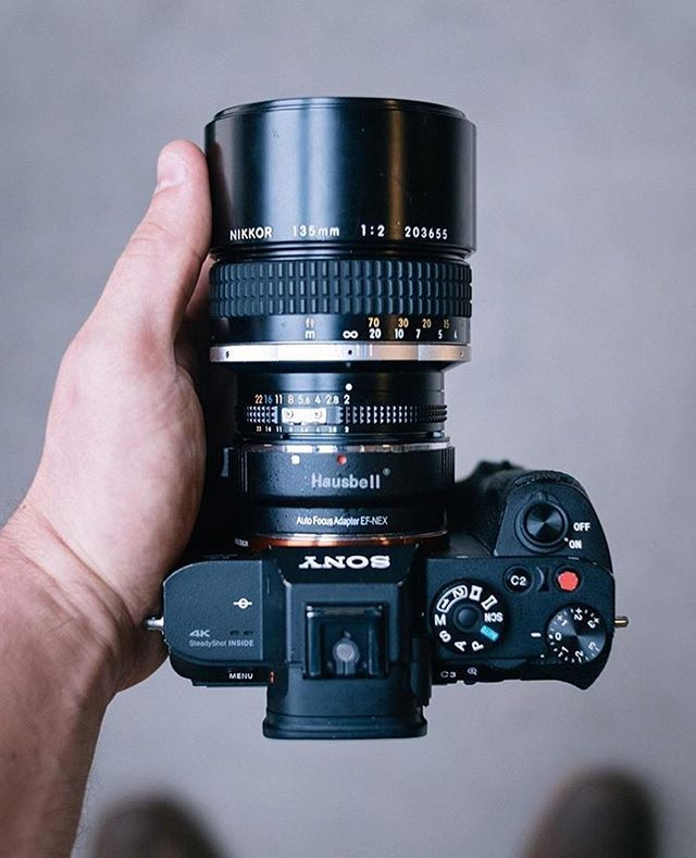 Do you use older lenses? Sony a7s II with a Nikkor 135mm f/2