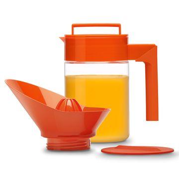 Takeya orange juice set. So cheery!Design Inspiration, Design Products, Juice Maker, Fab Com, Maker Sets, Takeya Orange, 24Oz, Kitchens Gadgets, Orange Juice