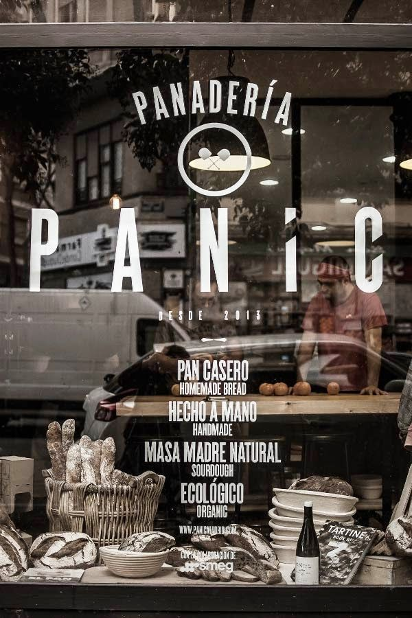 Panic C/Conde Duque, 13 (m: S. Bernardo) L-s: 10-21h Pan como el de antes. También organizan talleres para aprender a elaborarlo