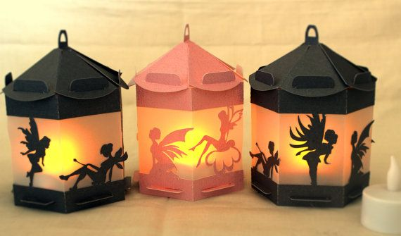 3D SVG Fairy Lantern svg  digital files by MySVGHUT on Etsy
