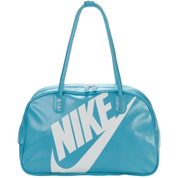Nike Heritage Si Shoulder Club ($50) ❤ liked on Polyvore featuring bags, handbags, shoulder bags, nike shoulder bag, nike handbags, nike, nike purse and white shoulder bag