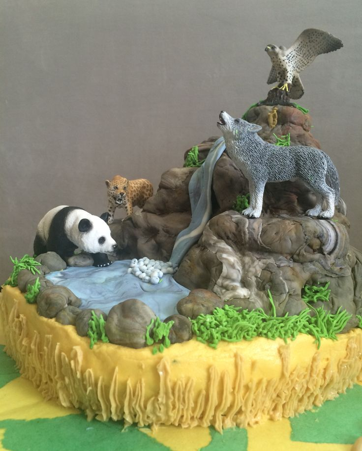Edible Clay Spirit Animals Book And Cereal Treats On