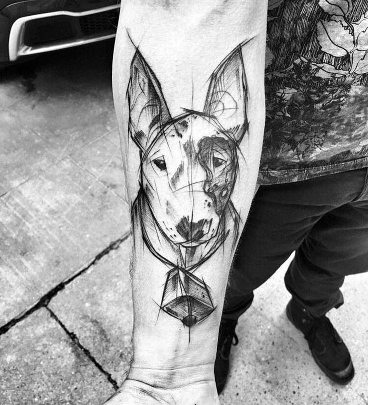 Tätowierung Hund