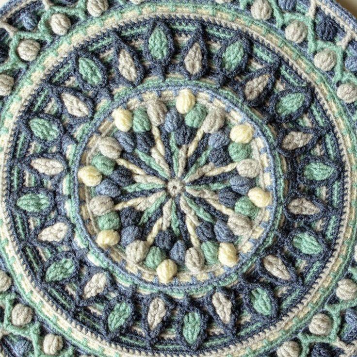 Large Crochet Squares or Second Life of Dandelion Mandala | LillaBjörn's Crochet World