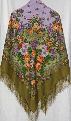 Цветет сирень 1360-10, Клара Зиновьева  146-146 см