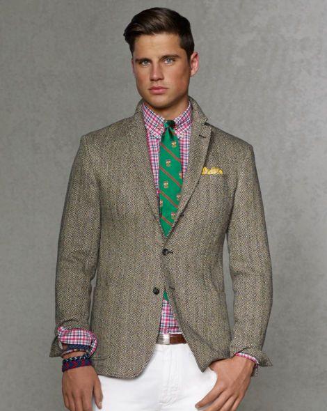 Herringbone Sport Coat - Polo Ralph Lauren Sale - RalphLauren.com
